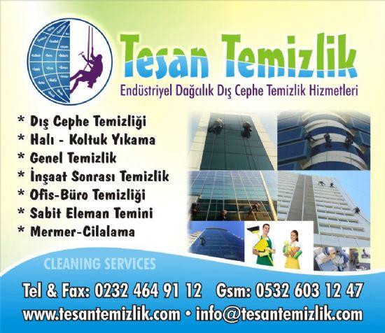 İzmir Dış Cephe Temizliği Tesan Temizlik