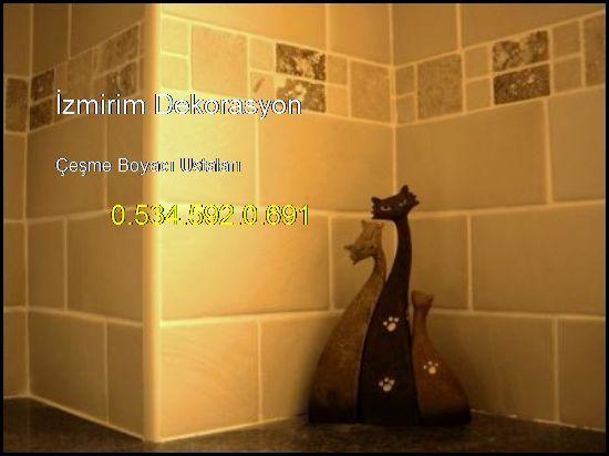 Çeşme Boyacı Ev Daire Boya İşleri Ustaları 0.534.592.0.691 İzmirim Dekorasyon Çeşme Boyacı Ustaları