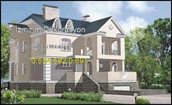 Konak Boyacı Ev Daire Boya İşleri Ustaları 0.534.592.0.691 İzmirim Dekorasyon Konak Boyacı Ustaları