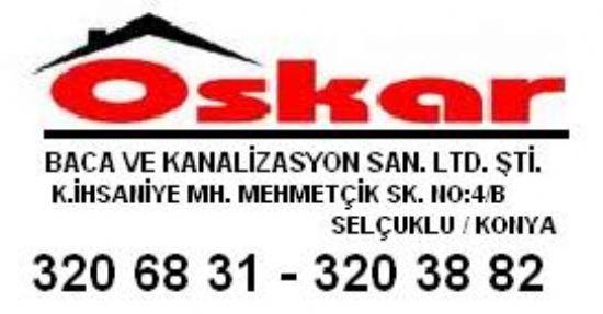 Kanal Arıza Koski Oskar Baca:033 23206831