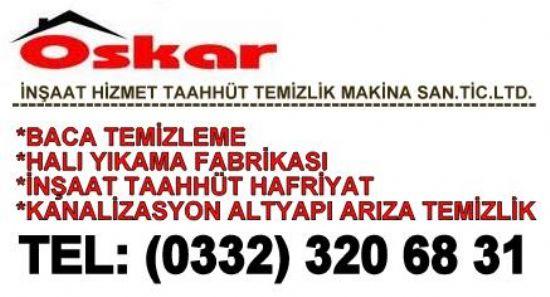 Oskar Baca Temizleme Konya:0332 3206831