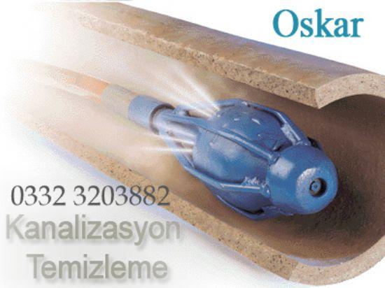Oskar Temizlik:0332 3206831 Oskar Kanalizasyon Baca Temizleme
