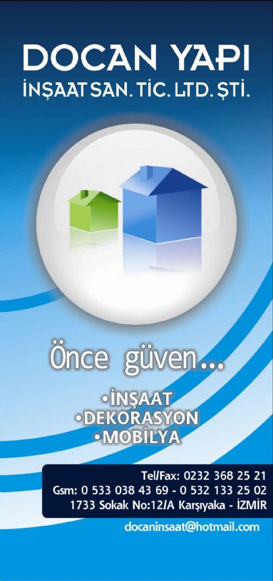 Docan Yapı İnşaat San.tic.ltd.şti    * İnşaat *dekarasyon *mobilya Ücretsiz Mimari Keşif...