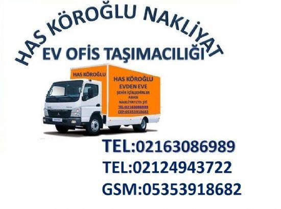 Hasköroğlu Evden Eve Nakliyat Ltd Şti Beşiktaş Evden Eve