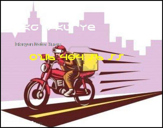 İstasyon Kurye 0216 484 56 55 Akgün Kurye İstasyon Motor Kurye