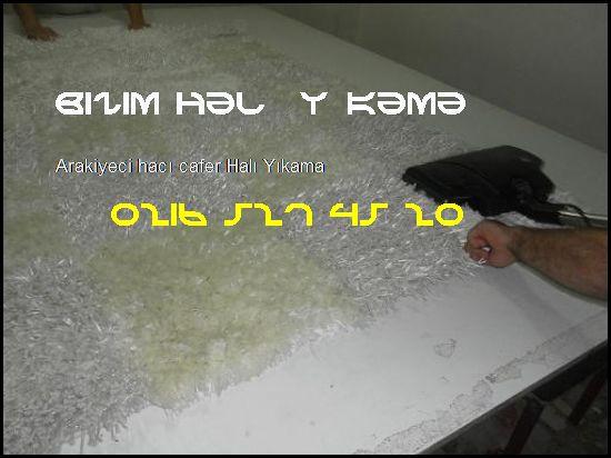 Arakiyeci Hacı Cafer Halı Yıkamacı 0216 527 45 20 Bizim Halı Yıkama Arakiyeci Hacı Cafer Halı Yıkama