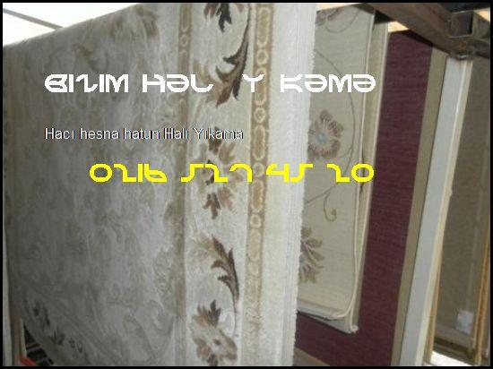 Hacı Hesna Hatun Halı Yıkamacı 0216 527 45 20 Bizim Halı Yıkama Hacı Hesna Hatun Halı Yıkama