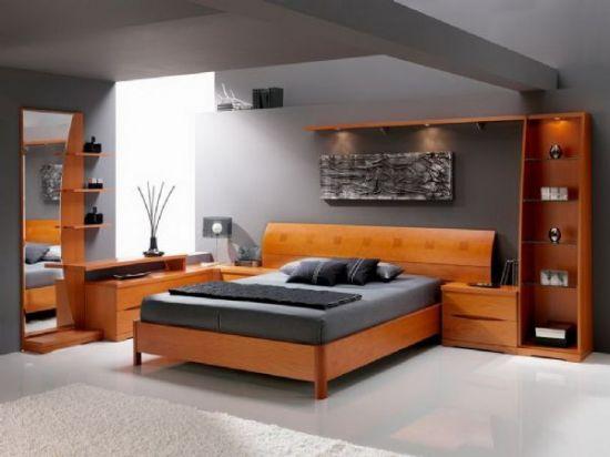 Moder Yatak Odası Size Özel Tasarım