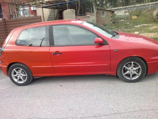 Acil Satılık Fiat Brava 2001 Otomatik Tek Kapılı Lpgli Kırmızı Çelik Jantlı
