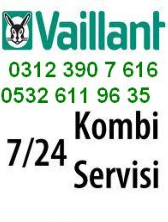 Çankaya Vaillant Servisi 390 76 16 // 0532 611 96 35