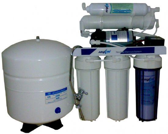 Tezgah Altı Açık Pompalı Su Arıtma Cihazı