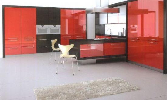 Modern Mutfak Dolapları İmalattan Hesaplı Rengarenk
