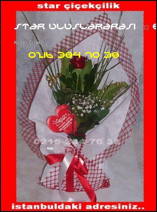 Konak Çiçek Siparişi 0216 384 70 38 Star Uluslararası Çiçekçilik Konak Çiçekçi