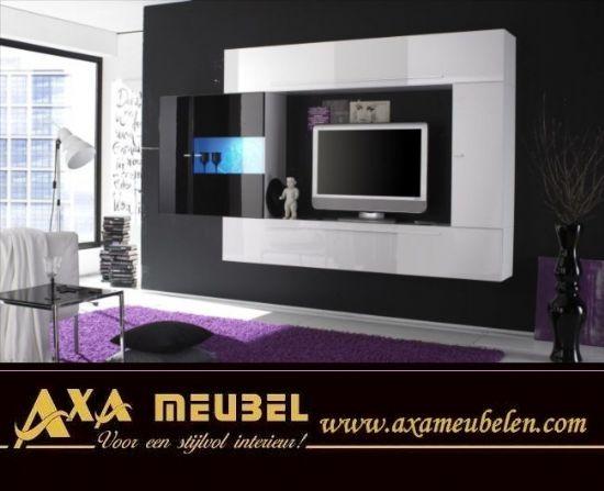 Kaliteli Ekonomik Ucuz Modern Tv Duvar Ünitesi | Axa Mobilya Hollanda