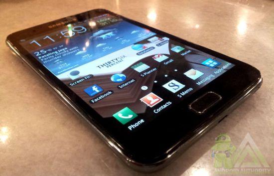 Yepyeni Samsung Galaxy Notd N7000 Quadband 3g Gps Telefonu