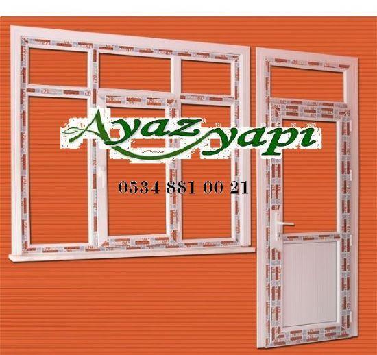 Ayaz Yapı Pvc Pencere & Kapı Sistemleri.. Dusa Kabın Asma Tavan Sineklik
