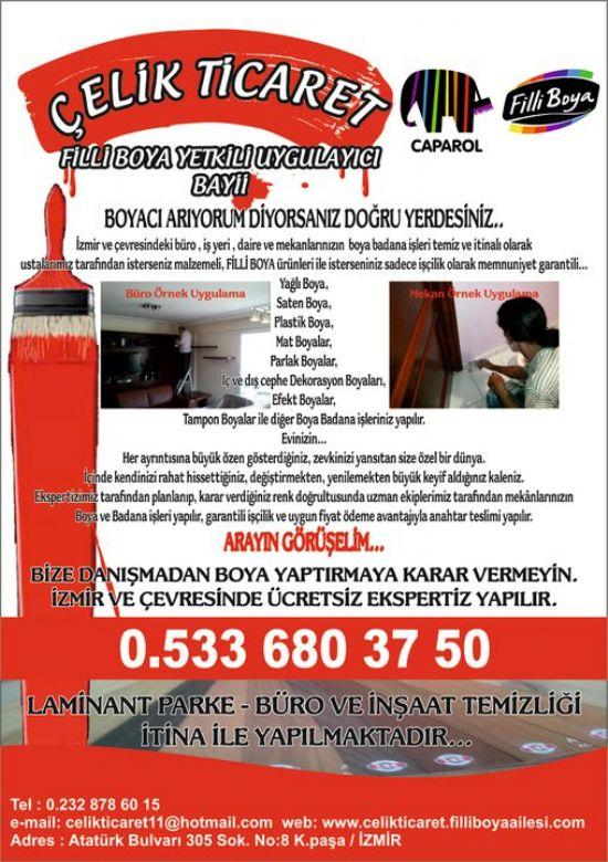 Bornova İzmir İç Ve Dış Cephe Boya Uygulaması, Uygulayıcı Bayi