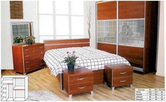 Yatak Odası Takımları Üniteleri İstediğiniz Renklerde