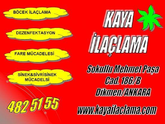 Apartman,bina,ev,bahçe,depo,çatı,kömürlük,araç İlaçlama Yenimahalle Ankara