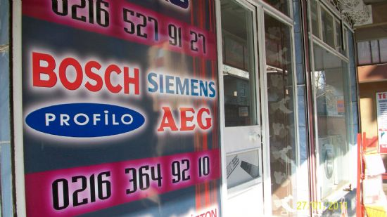 Yenidoğan Bosch Beyaz Eşya Servisi (0216) 364 92 10