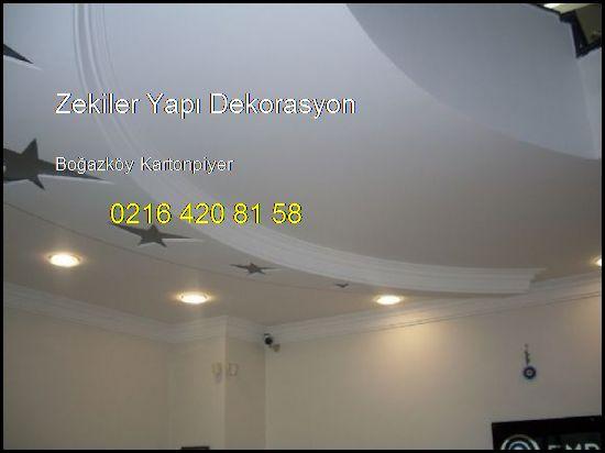 Boğazköy Kartonpiyer Ve Alçıpan İşleri 0216 420 81 58 Zekiler Yapı Dekorasyon Boğazköy Kartonpiyer
