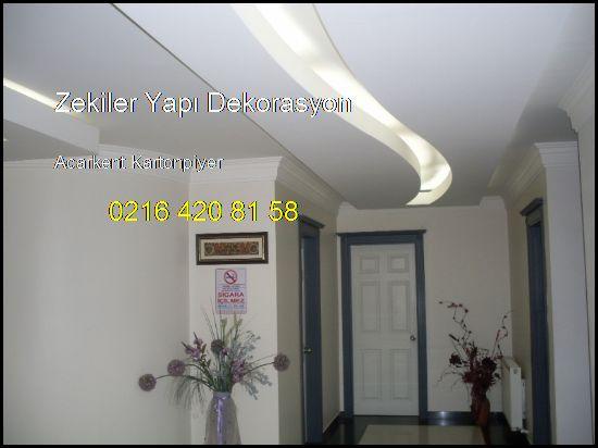 Acarkent Kartonpiyer Ve Alçıpan İşleri 0216 420 81 58 Zekiler Yapı Dekorasyon Acarkent Kartonpiyer