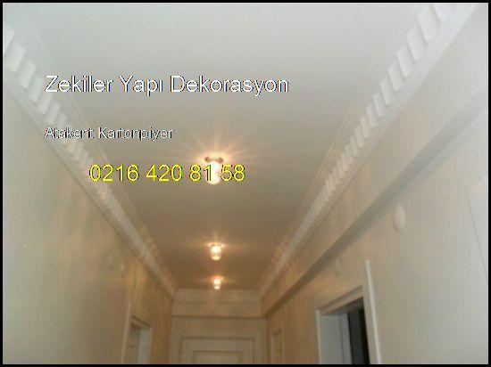 Atakent Kartonpiyer Ve Alçıpan İşleri 0216 420 81 58 Zekiler Yapı Dekorasyon Atakent Kartonpiyer