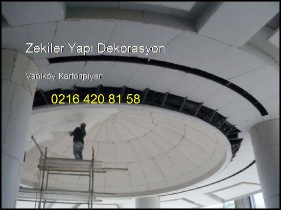 Vaniköy Kartonpiyer Ve Alçıpan İşleri 0216 420 81 58 Zekiler Yapı Dekorasyon Vaniköy Kartonpiyer