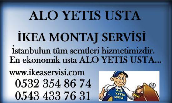 İkea, Koçtaş Mobilya , Korniş Avize, Gardolap, Masa, Duşakabin, Stor Avize Montaj Ustası...