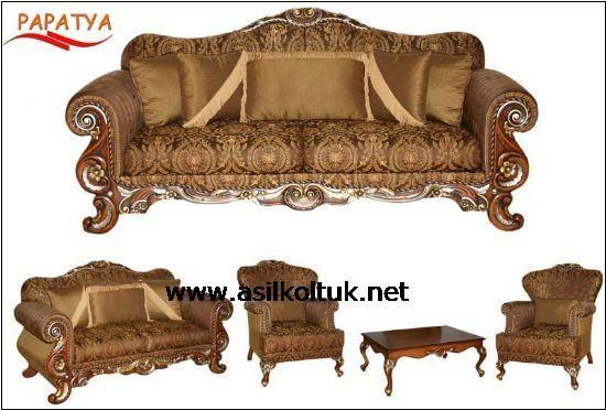 Klasik Koltuk Modelleri Ve Dekorasyonları