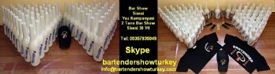 Barmen Malzemesi Barmen Show Sisesi