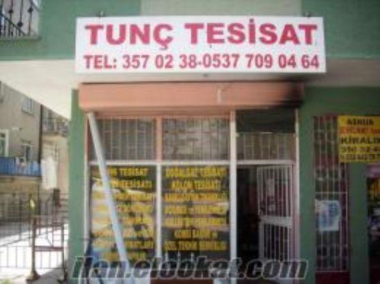Tunç Tesisat Tesisatcı Ankara 24 Saat Tesisatcı 03125813635