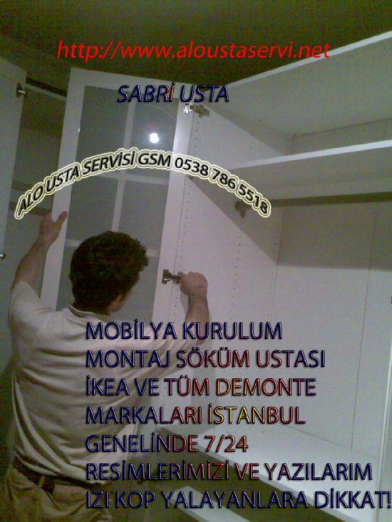 Mobilya Ve Montaj Marangoz Ustası Al 05387865518 Montaj İstanbul İçin Mobilya Montajı