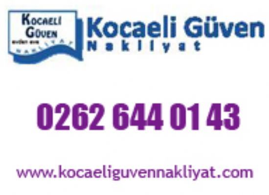 Kocaeli Güven Nakliyat Evden Eve - 0 507 703 08 01