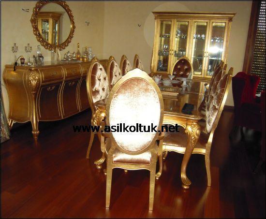Modoko Klasik Yemek Odası Resimleri