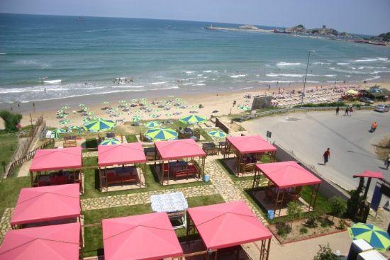Şile Klas Otelde Plaj Keyfine Servis Çekiyoruz..