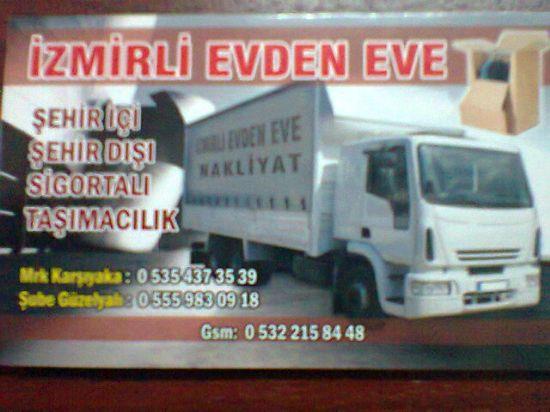 İzmir Evdeneve Nakliyat 05322158448