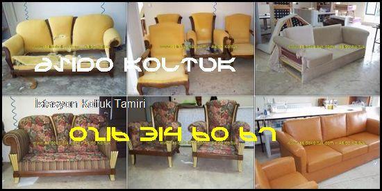 İstasyon Ofis Koltuk Tamiri  Asido Koltuk® İstasyon Koltuk Tamiri