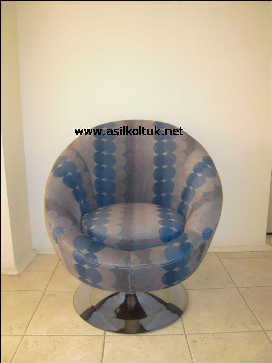 Mavi Kumaşlı Berjer Modelleri