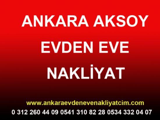 Ankara Aksoy Evden Eve Nakliyat