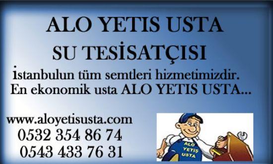 İstanbul İçin Su Tesisatcı Ustası,duşakabin,klozet,musluk Montaj Ustası