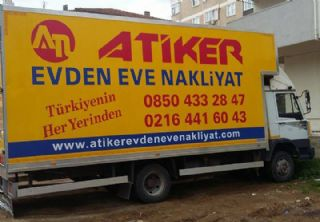 Ataşehir Evden Eve Nakliyat  Atiker Nakliyat