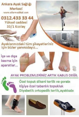 Ankara Ayak Sağlığı Merkezi Ve Ayak Sağlığı Ürünleri