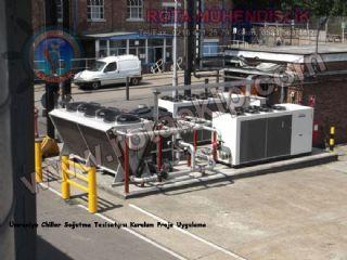 Chiller Soğutma Sistemleri - Rota Mühendislik