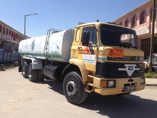 Kiralık Arazoz Su Tankeri Konya