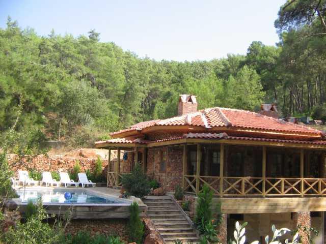 Villa Safir Marmaris Gökovada Kiralık Doğa İçinde Özel Havuzlu Yazlık Ev
