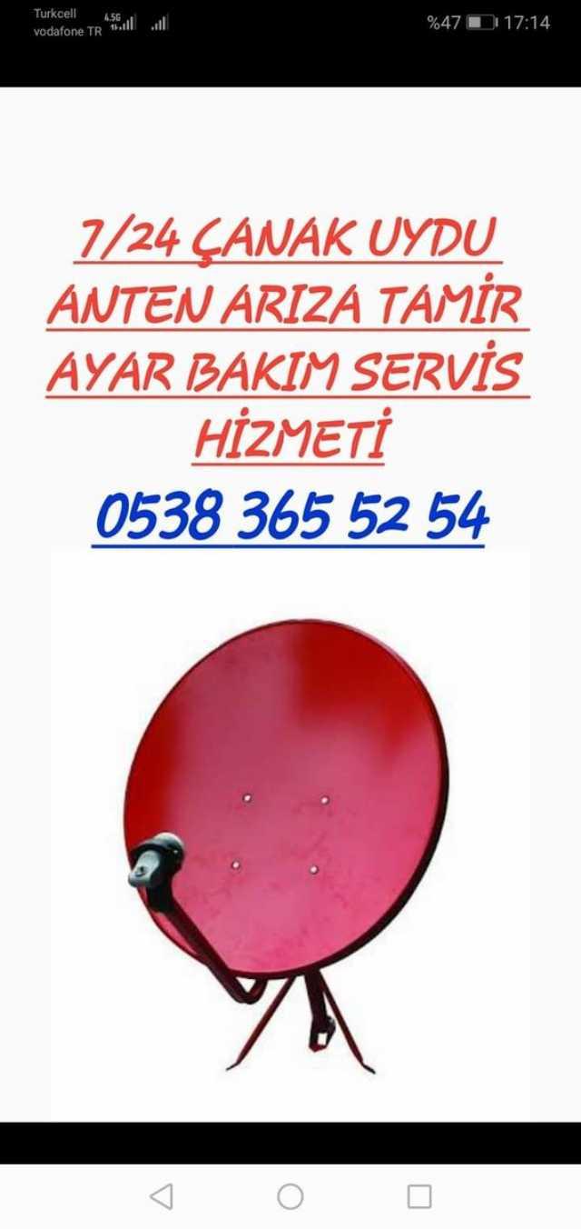 Konya Çanak Anten Sinyal Kanal Ayarlama Güncelleme Montaj Arıza Tamir Servisi