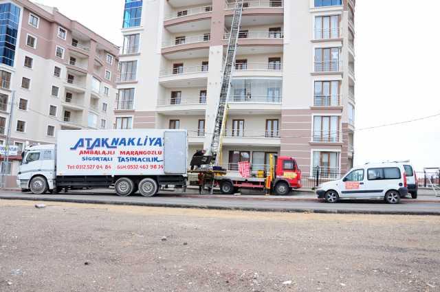 Atak Evden Eve Nakliyat Parca Komple Ofis Büro Ambalajlı Marangozlu Sigorta