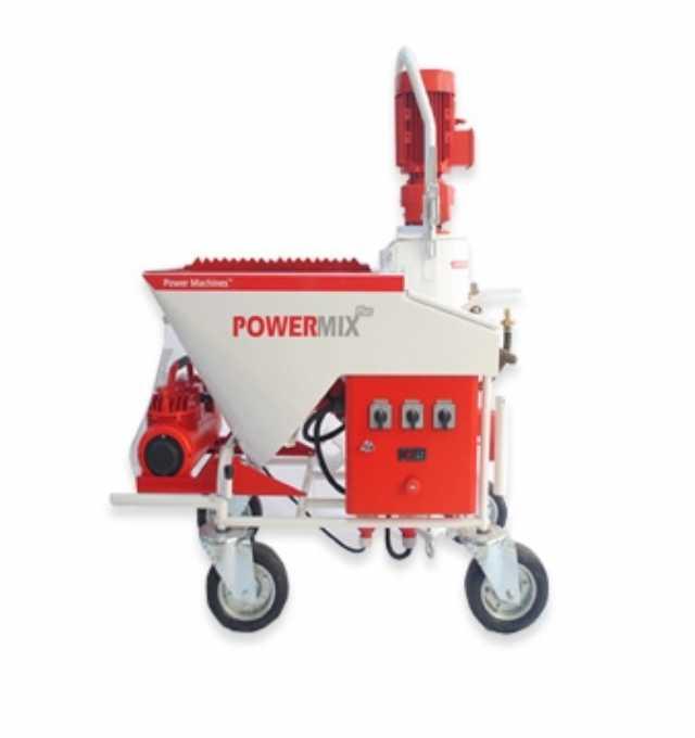 Satılık Sıfır Powermix Plus-alçı Sıva Makinası
