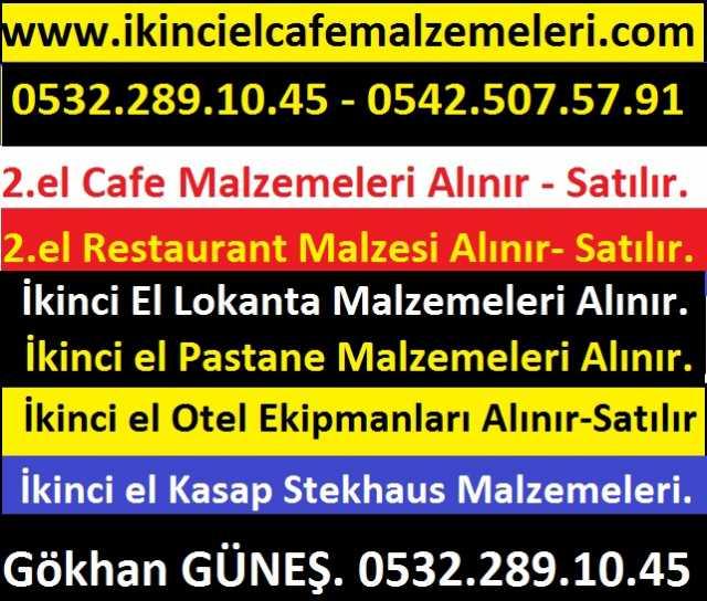 Güneş Paslanmaz 2.el Lokanta Otel Büfe Cafe Restaurant